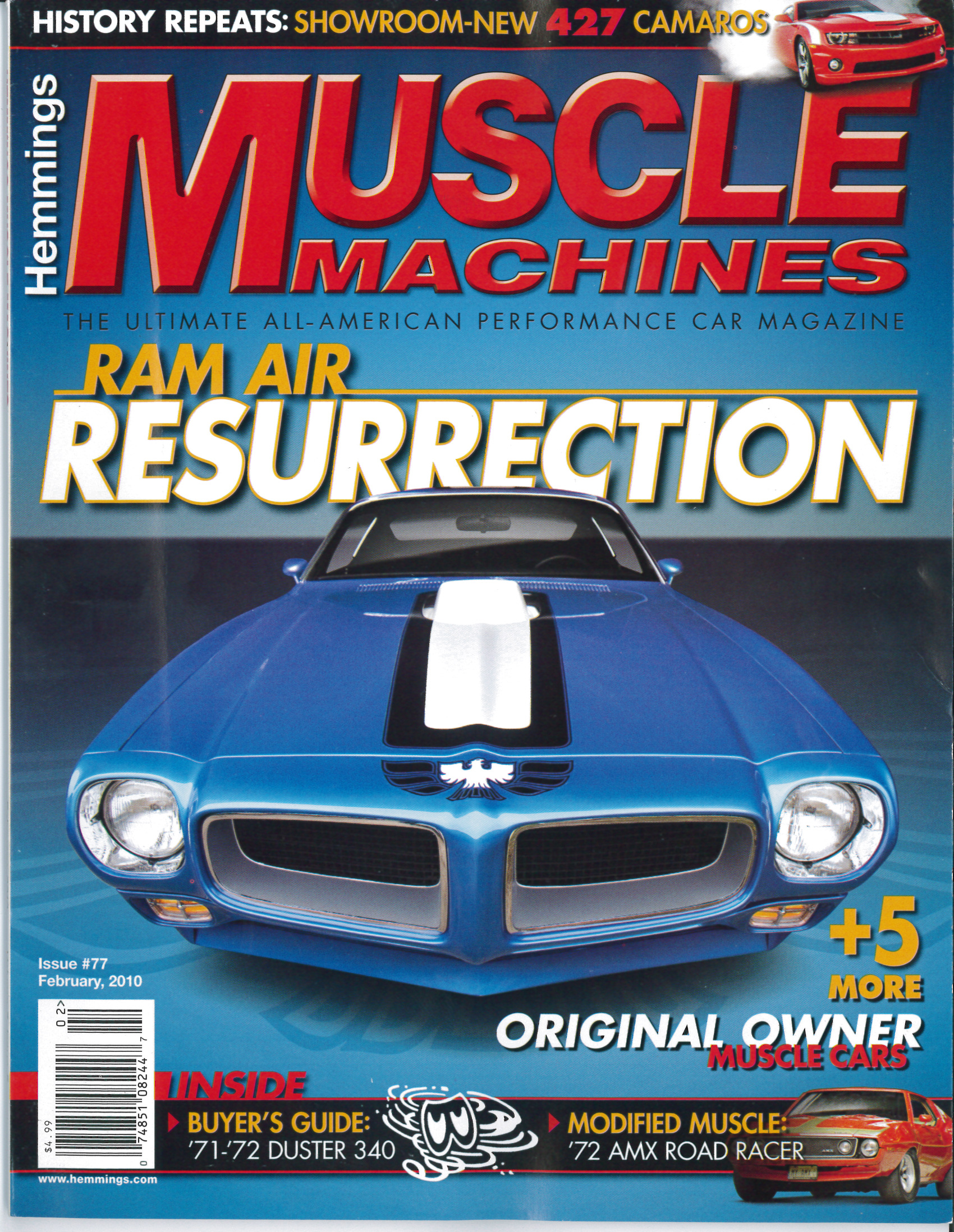 HTR cars featured in Feb 2010 Muscle Machines Magazine! - Redline ...