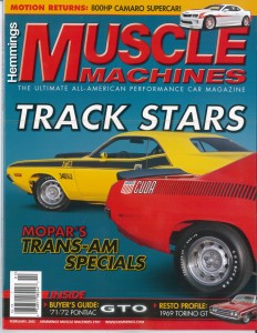 Hemmings Muscle Machines February 2012 Cover